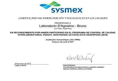 sysmex2019